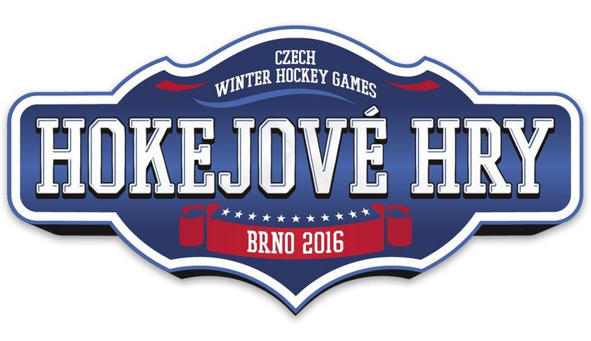 Logo brněnských Hokejových her 2016 | Autor: Archiv Komety Brno