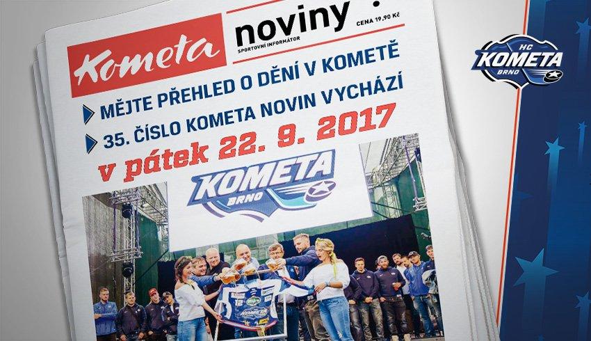 Zářijové číslo Kometa novin je tu. Co všechno nabízí již pětatřicáté vydání?