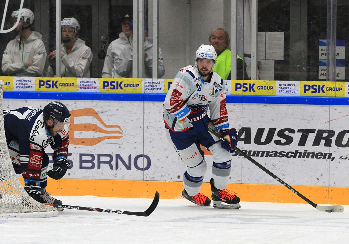 Jana Štencela (vlevo) a Šimona Stránského byli v této sezóně k vidění v opačných dresech.